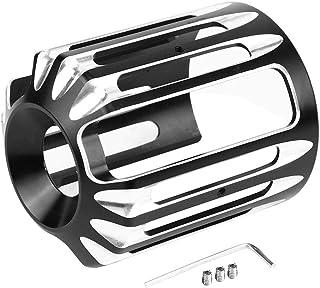 Duokon CNC Aluminium Motorrad Ölfilterdeckel für XL 883 Dyna Softail Touring Unive