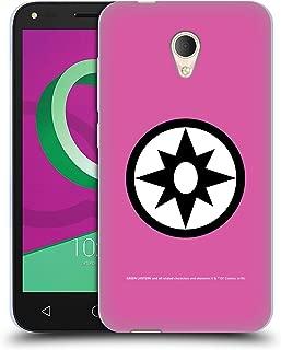 Official Green Lantern DC Comics Star Sapphires Lantern Corps Soft Gel Case Compatible for Alcatel U5 3G 4047D