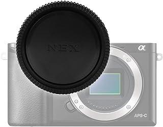 Gehäusedeckel Body Cap kompatibel mit Sony ILCE NEX 5 NEX 7 NEX VG900 Alpha 5000 A5100 A5300 A6000 A6300 A6400 A6500 Alpha 7R II A7S II, ALC B1EM, Bajonettverschluss Kappe, Schutzdeckel E Mount