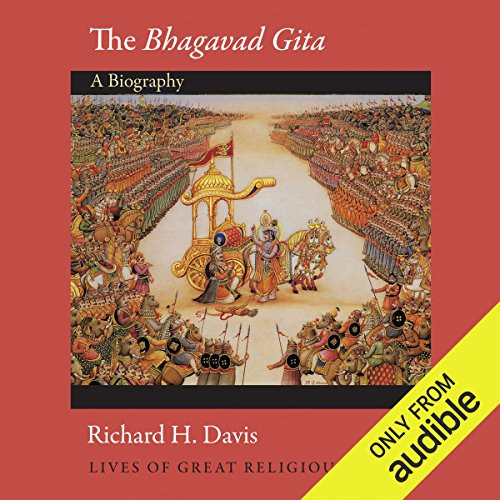 The Bhagavad Gita (Lives of Great Religious Books) audiobook cover art