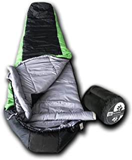 Wolftraders LoneWolf +20 Degree Premium Lightweight Mummy Sleeping Bag with Xfil