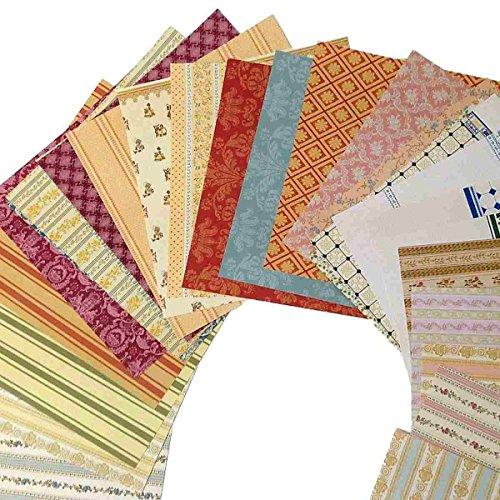 Tapeten-Musterbuch für das Puppenhaus