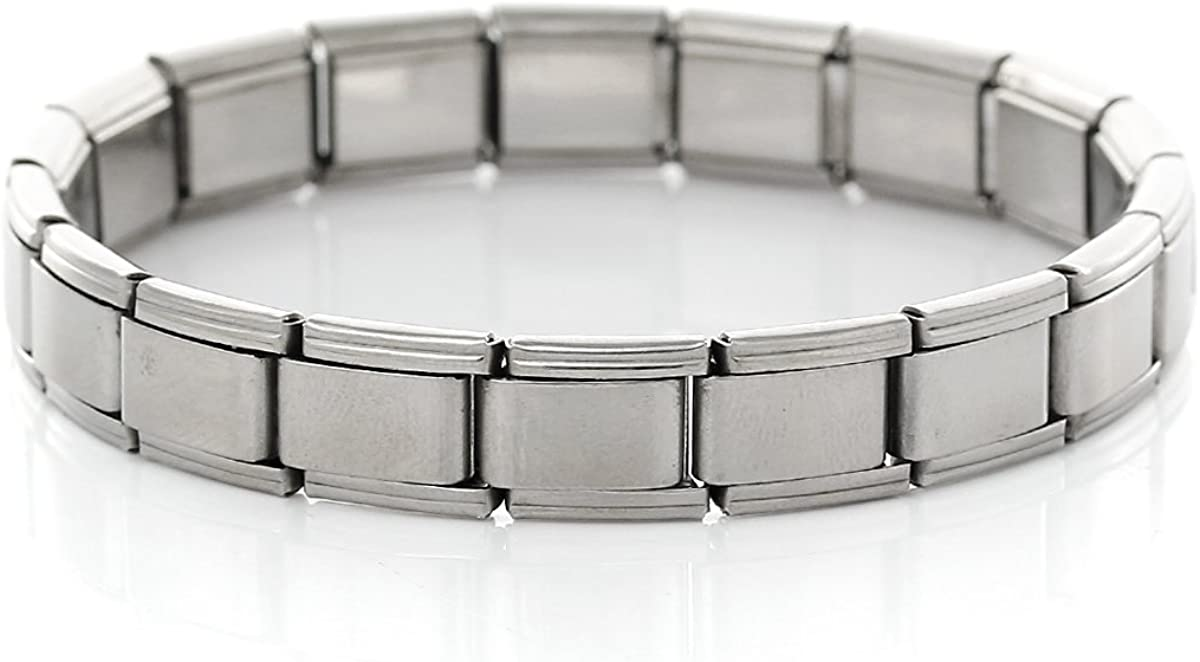 Sexy Sparkles Shipping included Starter Italian Direct store Charm Link 17.5 Bracelet 18 cm