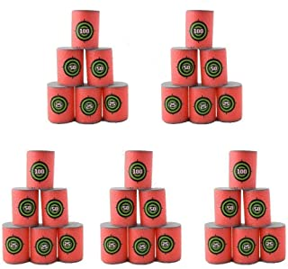 Estink 30pcs Soft EVA Bullet Target Dart Foam Toy Gun Shoot Dart for NERF N-Strike Blaster Kids Toy, 6Pcs/Set, 5-Set