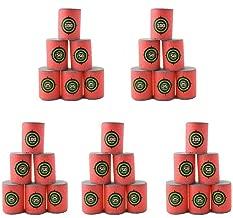 Estink 30pcs Soft EVA Bullet Target Dart Foam Toy Gun Shoot Dart for NERF N-Strike Blaster Kids Toy, 6Pcs/Set, 5-Set