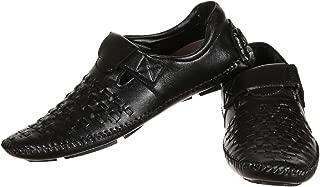 Lee Fox Black Casual Shoe LFROM9