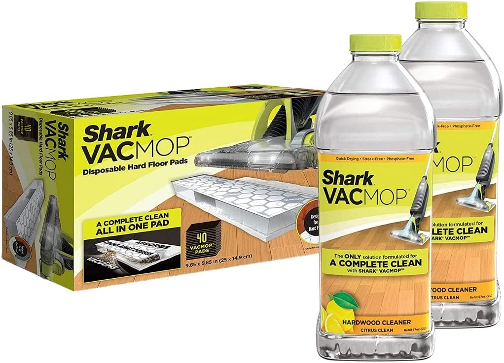 Today's only Shark VACMOP Bundle - VMP40 Pad Refills Selling and selling ct. 40