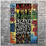 YKing1 Art Poster Wall Canvas A Tribe Called Quest