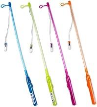 Schramm 4er Pack LED Laternenhalter 4 farbig Sortiert Laternenstab 4 farbig Sortiert ca. 48cm Laternen Stab Laterne Lampion Stab Laternenumzug Kindergeburtstag Lichterfest