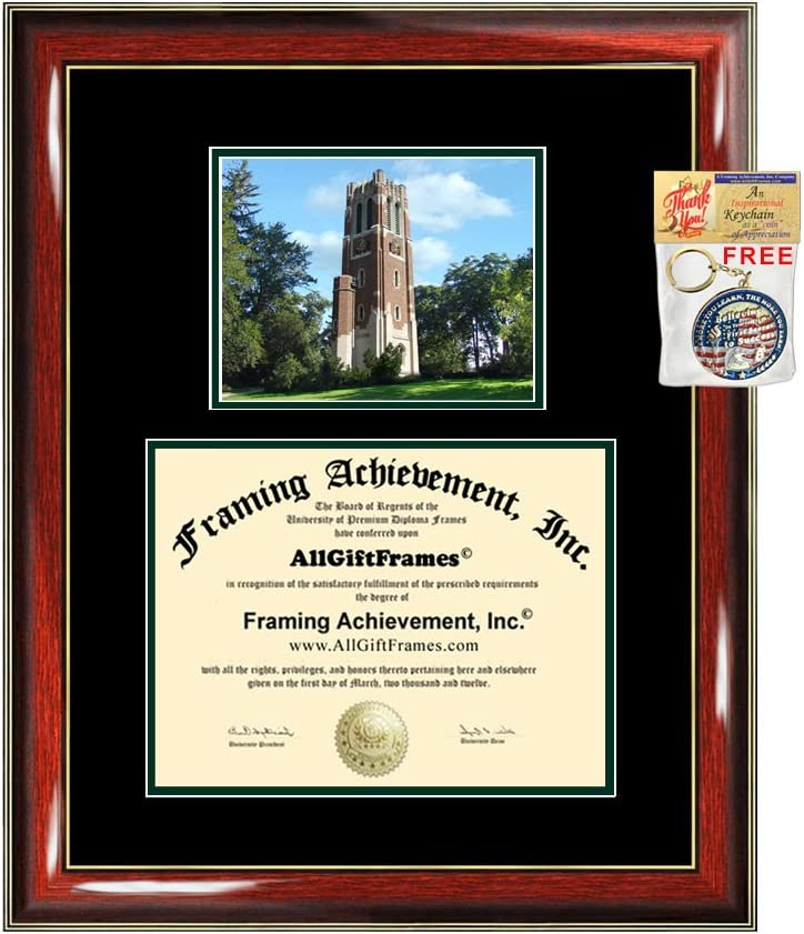Product AllGiftFrames Michigan Popularity State University Graduation Frame Diploma