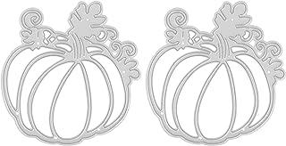 Artibetter 2Pcs Halloween Citrouille De Coupe Meurt Scrapbooking Découpées Artisanat Album Timbres Gaufrage Pochoirs pour ...