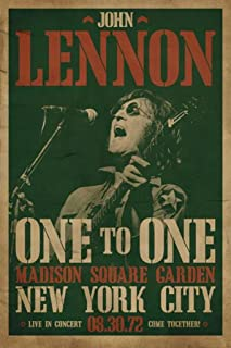 Pyramid America John Lennon-Live in Concert, Music Poster Print, 24 by 36-Inch