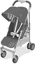 Maclaren Techno Arc Stroller- For newborns up to 55lb with extendable UPF 50+/waterproof hood, multi-position seat and 4-w...