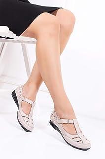 TARÇIN Hakiki Deri Günlük Kadın Ayakkabı TRC119-0601
