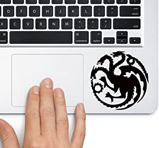 House of Targaryen Game of Thrones - Trackpad Apple Macbook Laptop Vinyl Sticker Decal