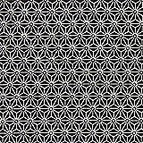Baumwollstoff Saki schwarz — Meterware ab 0,5m — STANDARD 100 by OEKO-TEX® Produktklasse I — zum Nähen von Kissen/Tagesdecken, Tischdekoration & Taschen