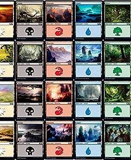 Magic: the Gathering Core 2020 Basic Land Set (1 Each of 20)