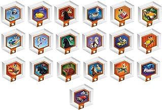 $25 » Disney Infinity Original 1.0 Power Disc Series - Complete Toy Hexagonal Power Discs - Set of 19