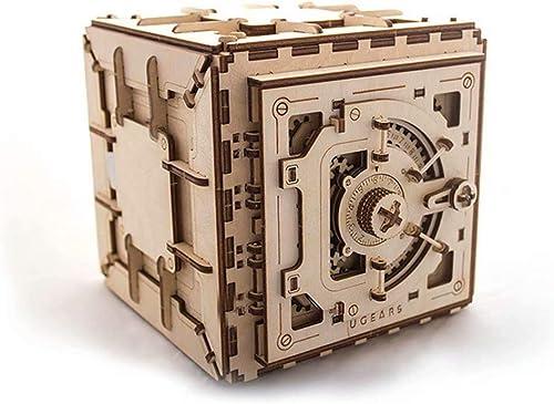 GG-model H erner mechanischer Getriebemodellschlo sten DIY Erwachsener zusammengebautes mechanisches Zahnradgetriebe des Spielzeugs   Kleberfreie Montage-19,6  18,5  17,6cm