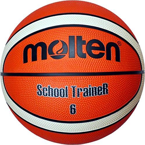 Molten Basketball, Orange/Ivory, Größe 5