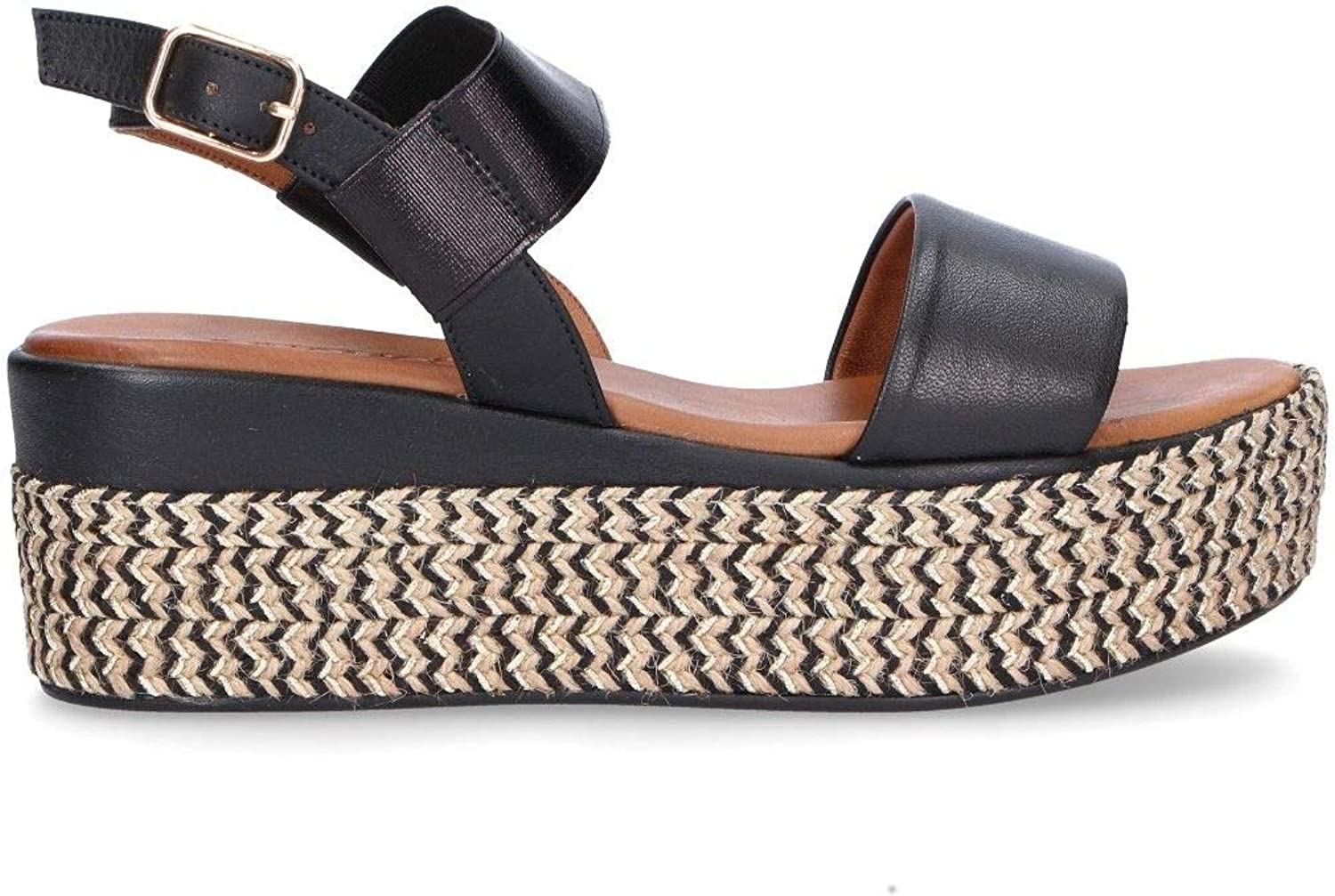 Women's Inuovo 8865BLACK Sandals Leather Black