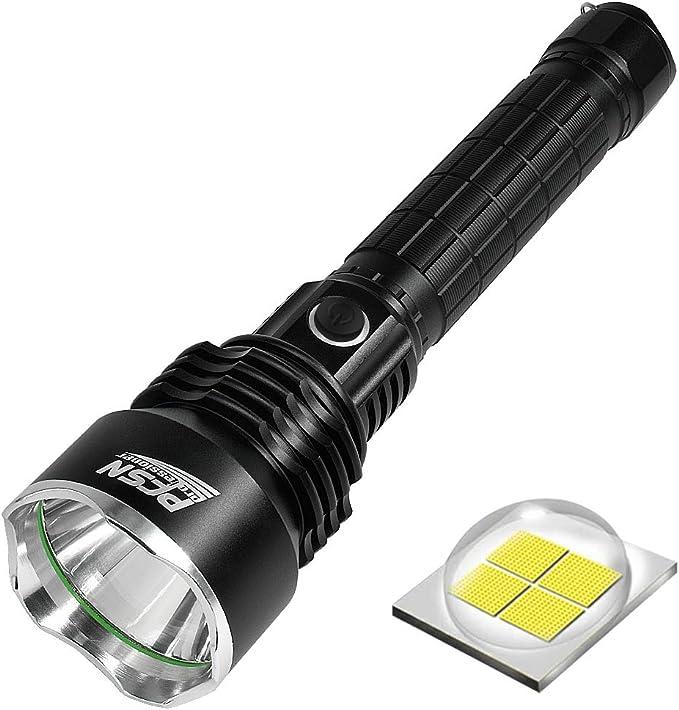 437 opinioni per Super luminoso LED torcia Pfsn TCP50 torcia potente con 6000 Lumen P50 LED