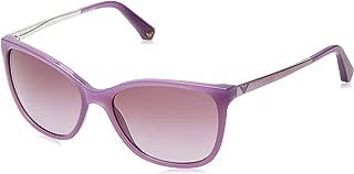 Emporio Armani EA 4025 55 51288H Earmani 4002 Cateye Sunglasses 55, Pink 51288H