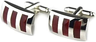 Aooaz Cufflinks Rectangular/Square Opal Inlay Cufflink for Men