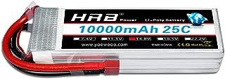 HRB RC Lipo Battery 14.8V 4S 10000mah 25C for Multi-Rotor DJI Tarot 550 680 Quad HEX DJI S800 S1000