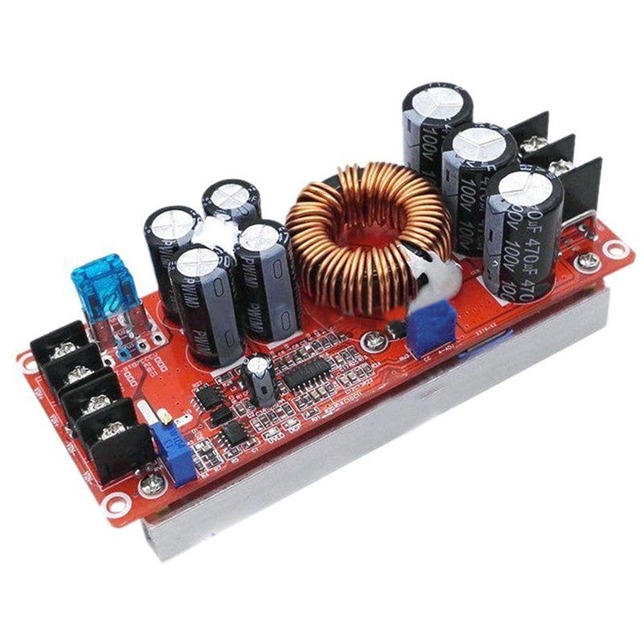 巡礼者氷粘着性ACHICOO 1200W 20A DCコンバータブースト 車昇圧電源 モジュール 8-60Vから12-83V