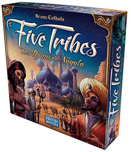 Five Tribes - Asmodee - Jeu de société - Jeu de plateau - Jeu de stratégie