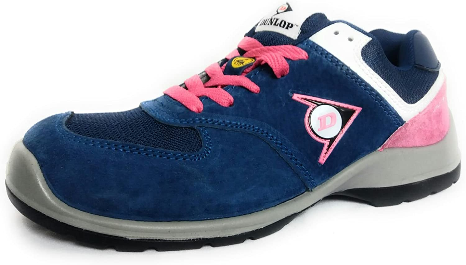 Dunlop Lady shoes bluee Pink S3, Size 37