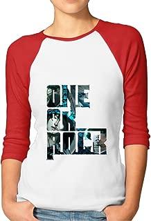 SAXON Women's Geek One Ok Rock Raglan T-Shirt