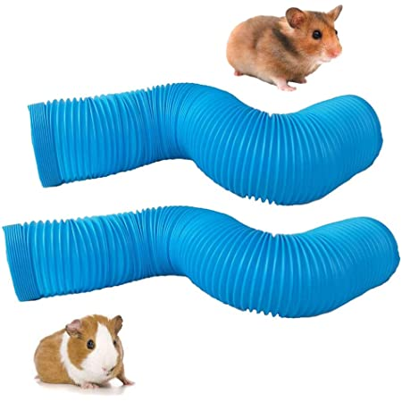 Chinchillas Rats Dwarf Rabbits and Hedgehogs Vedem Guinea Pig Play Tunnel Collapsible Small Animal Fun Tube for Hamsters