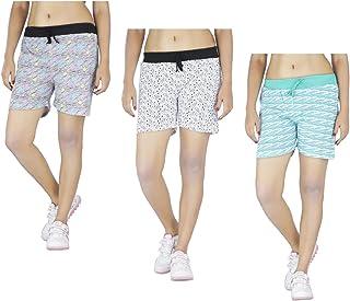 Indirang Women Boxer Shorts (Pack of 3)