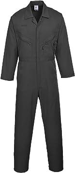Liverpool Negro Black Portwest C813BKRXXXL Traje de Protection con Cremallera 3 XL