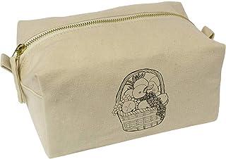 'Fruit Basket' Canvas Wash Bag / Makeup Case (CS00019530)