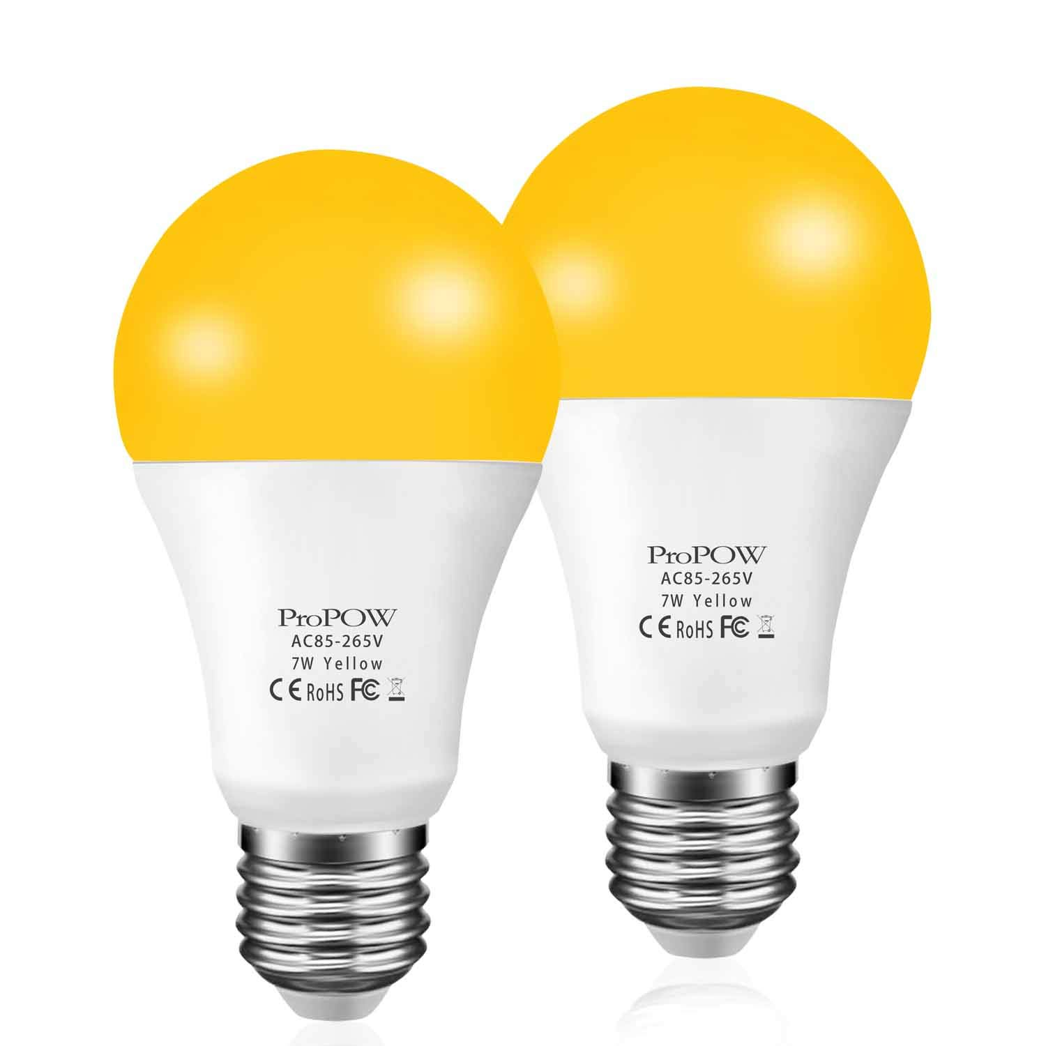 Yellow ProPOW Equivalent Outdoor Non Dimmable