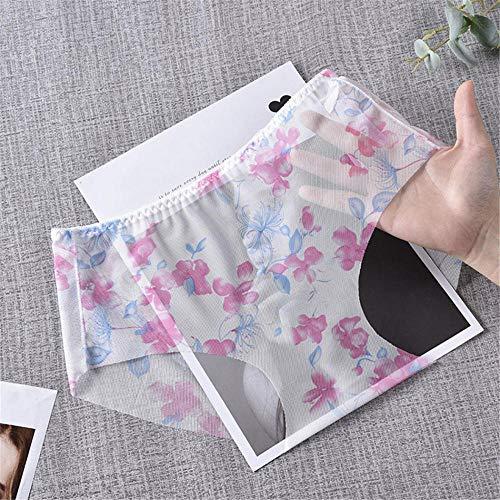 LTHH Sexy Höschen mit Mesh-Print, weiß