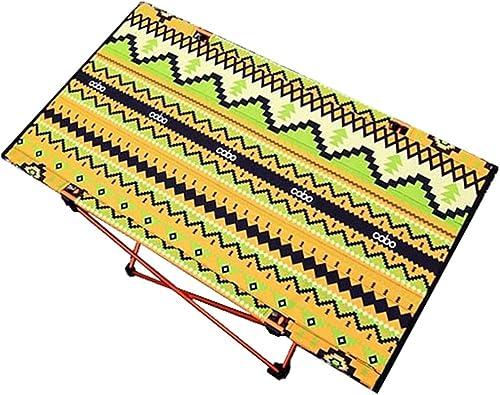 Zhaolan-Outdoors Supplies Fournitures de Camping portatives en Plein air Table Pliante légère portative légère extérieure portative de Table de Camping extérieure de Tissu