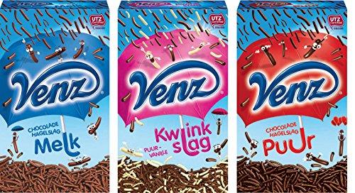 Vorteilspaket Venz Schokoladenstreusel 3 x 400 g