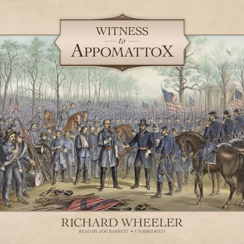 Witness to Appomattox audiobook cover art