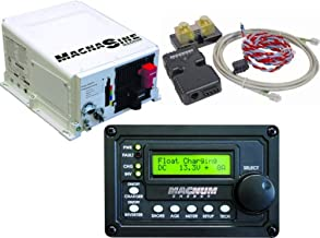 Magnum Energy MS2000MERC50MEBMK Inverter Charger Combo; Includes: MS2000 2000W 12VDC Pure Sine Inverter Charger, ME-RC50 LCD Display Remote Panel and ME-BMK Battery Monitoring Kit
