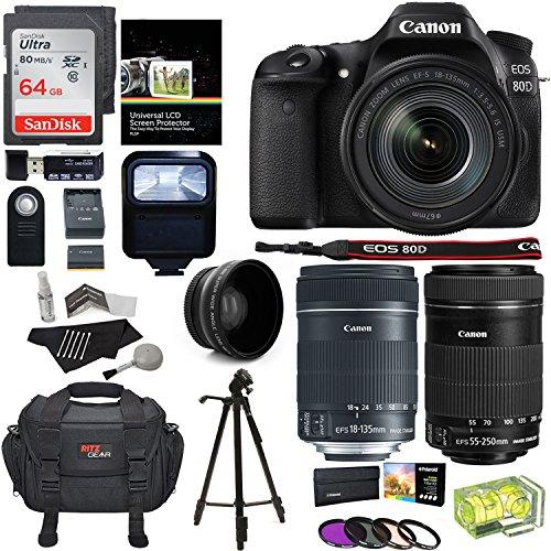 Canon EOS 80D Accessory Bundle 3
