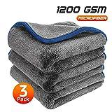 Healsell Microfiber Towels for Cars, Car Drying Towel, Premium Professional Soft...