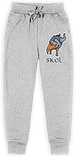 Yuanmeiju Skol Shirt Viking Funny Boys Pantalones Deportivos,Pantalones Deportivos for Teens Boys Girls