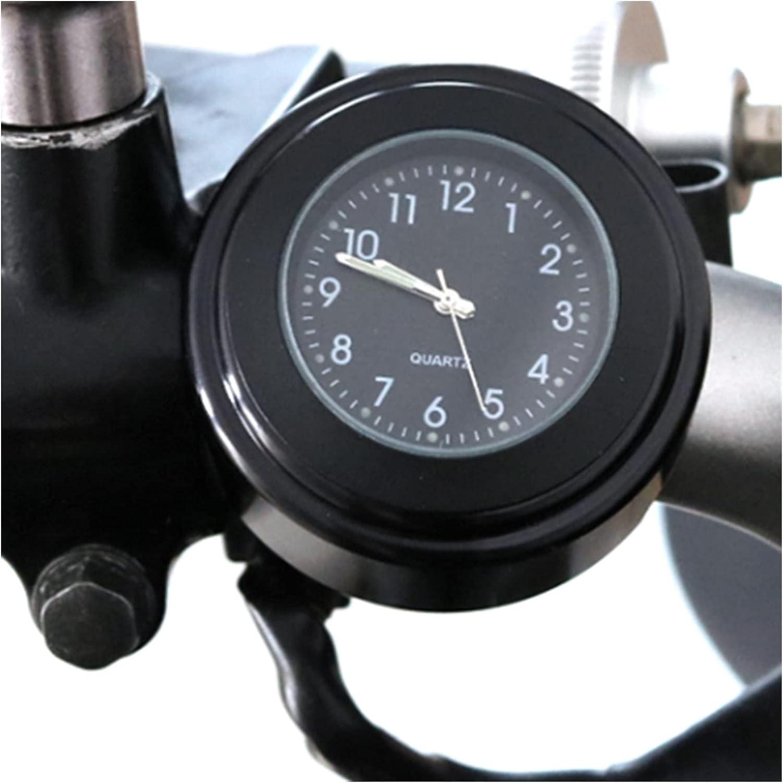 bazutiwns NEW before selling ☆ mart 22-25mm Universal Motorcycle Waterproof Clock Diameter