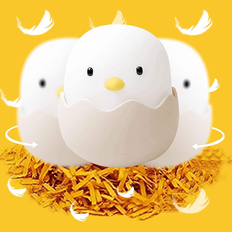 Egg Nursery Kids Night Lights Lamp with 100% quality warranty Soft Max 42% OFF Kawaii Recharg