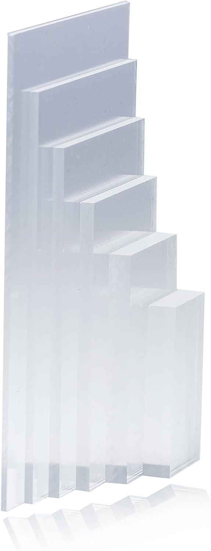Plexiglas ® Polycarbonatplatte farblos farblos farblos Acryl Zuschnitt in vielen Formaten (15 mm Stärke, 300 x 300 mm) B06X97JKV2  | Ausgezeichnete Leistung  30fc2d