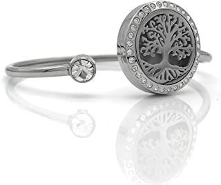 Tree of life Bangle you can open it and it has coloured piece to put inside and looks cool